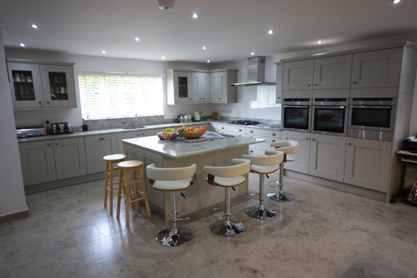 Cheshires finest kitchens, bedroom and bathrooms.